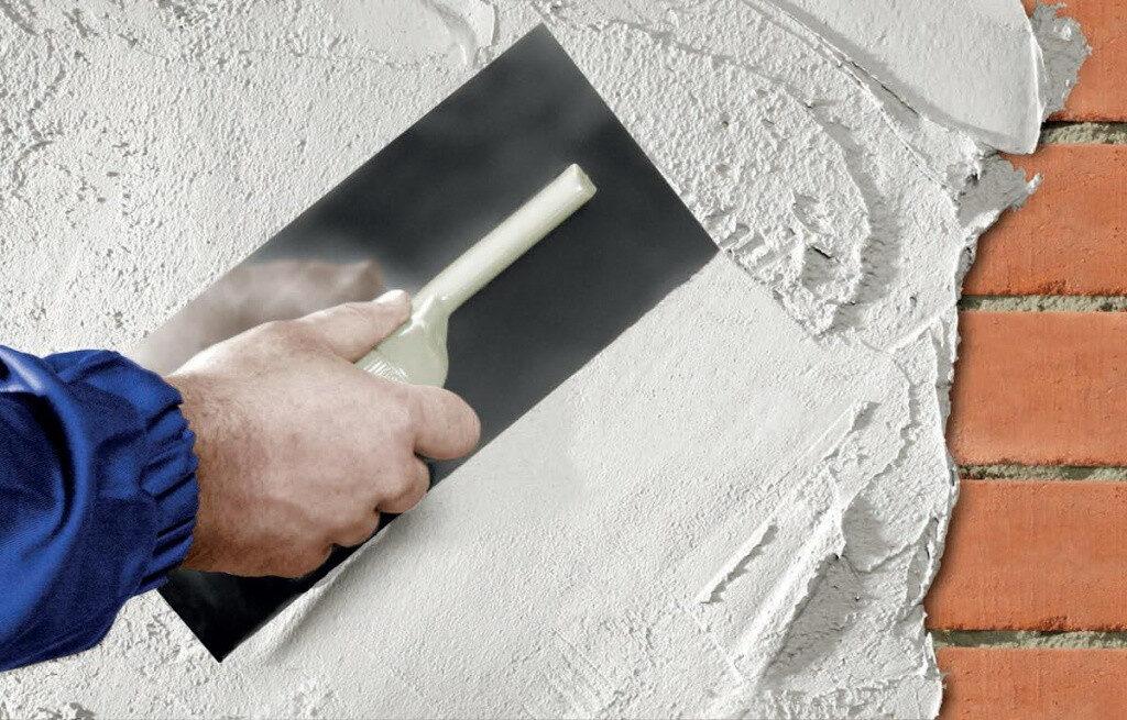 Цементная штукатурка стен в Минске цена фото