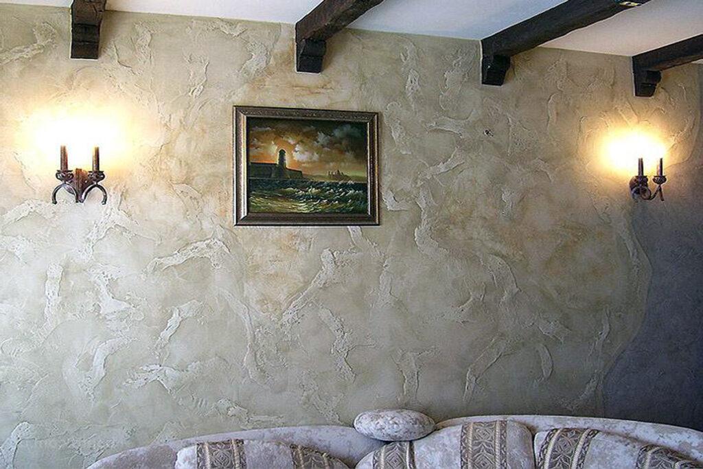 Декоративная штукатурка стен в Минске цена фото